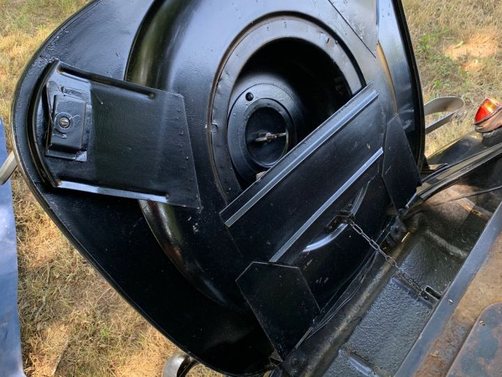 Citroen Traction 11 BL Malle Plate Noire - 7