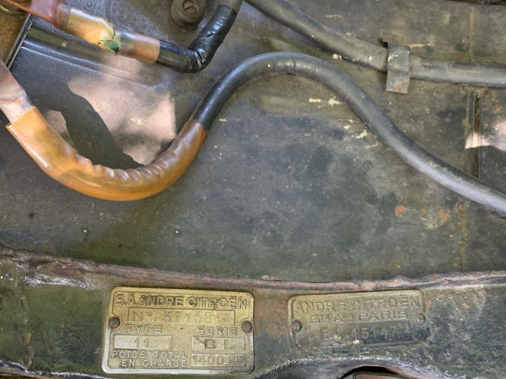 Citroen Traction 11 BL Malle Plate Noire - 10