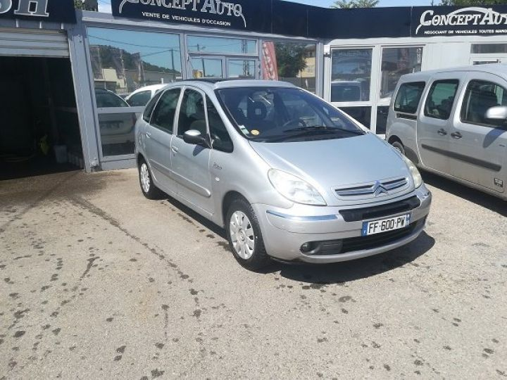 Citroen XSARA PICASSO EXCLUSIVE GRIS METAL Occasion - 1
