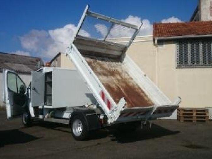 Commercial car Ford Transit Back Dump/Tipper body 350 l2rj benne coffre blanc - 1