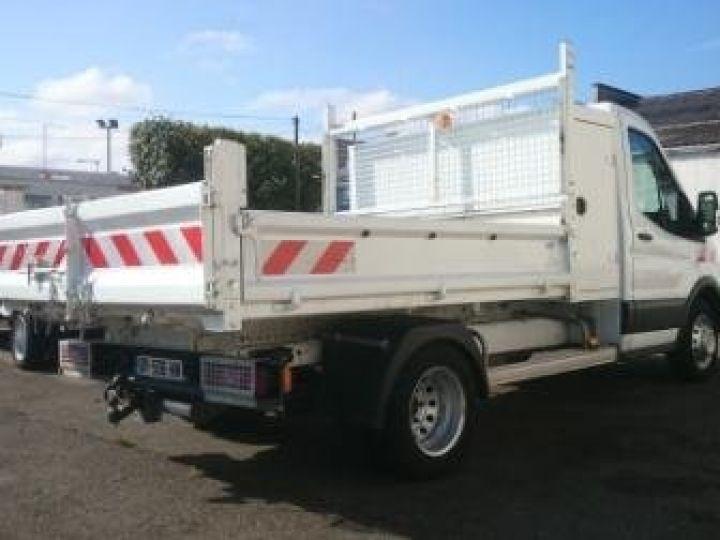 Commercial car Ford Transit Back Dump/Tipper body 350 l2rj benne coffre blanc - 3
