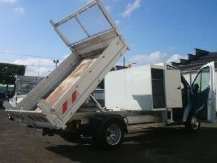 Commercial car Ford Transit Back Dump/Tipper body 350 l2rj benne coffre blanc - 4