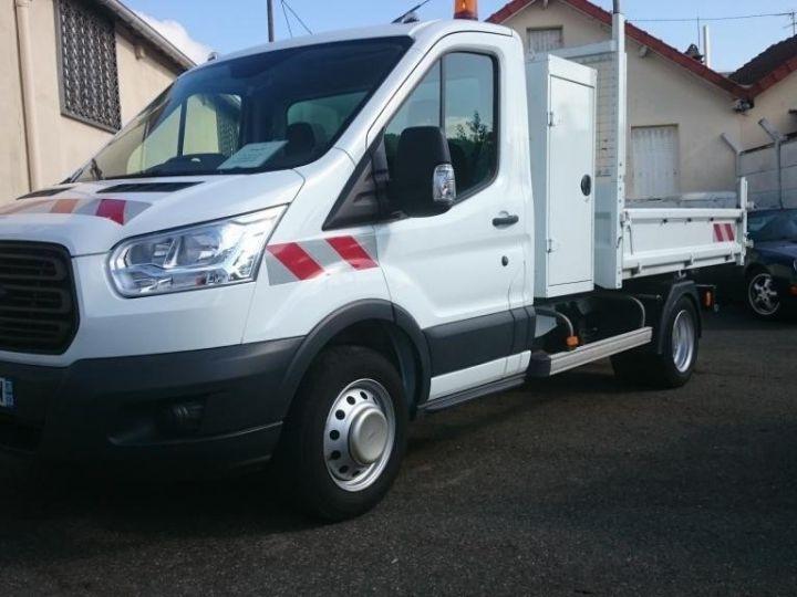 Commercial car Ford Transit Back Dump/Tipper body 350 l2rj benne coffre blanc - 6