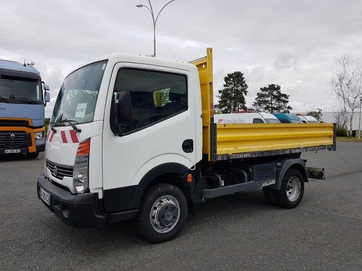 Commercial car Nissan Cabstar Back Dump/Tipper body 35-11 BLANC JAUNE - 1