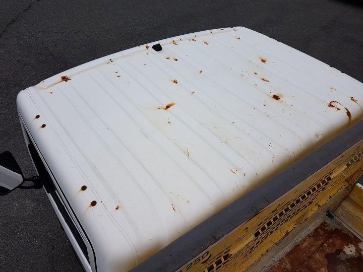 Commercial car Nissan Cabstar Back Dump/Tipper body 35-11 BLANC JAUNE - 13