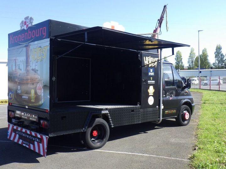 Commercial car Ford Transit Box body Noir  - 1