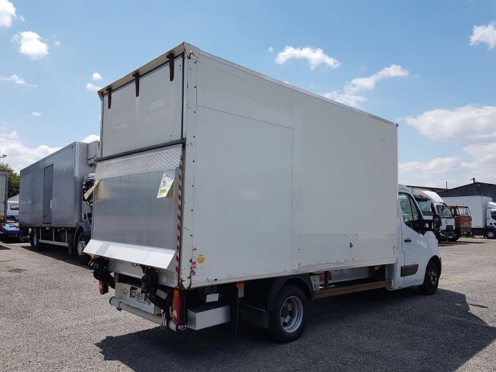 Commercial car Renault Master Box body + Lifting Tailboard 150dci.35 CC L3 PMJ BLANC - 2