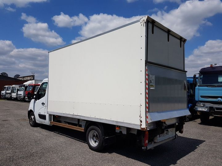 Commercial car Renault Master Box body + Lifting Tailboard 150dci.35 CC L3 PMJ BLANC - 5