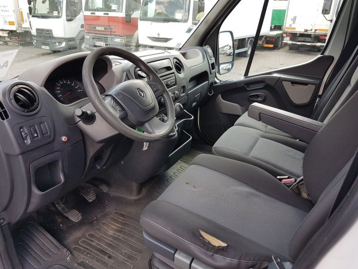 Commercial car Renault Master Box body + Lifting Tailboard 150dci.35 CC L3 PMJ BLANC - 19