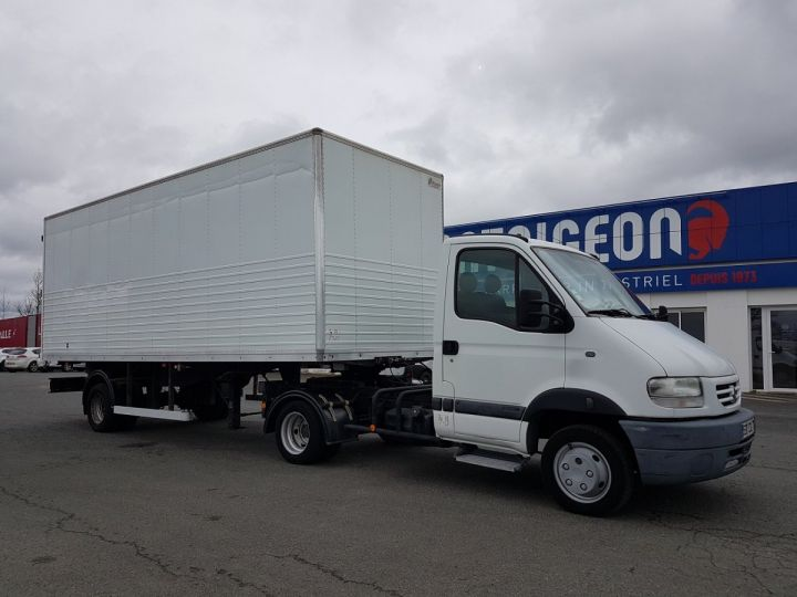 Commercial car Renault Mascott Box body 130dci.35 + S.REM VOW 32m3 BLANC - 3