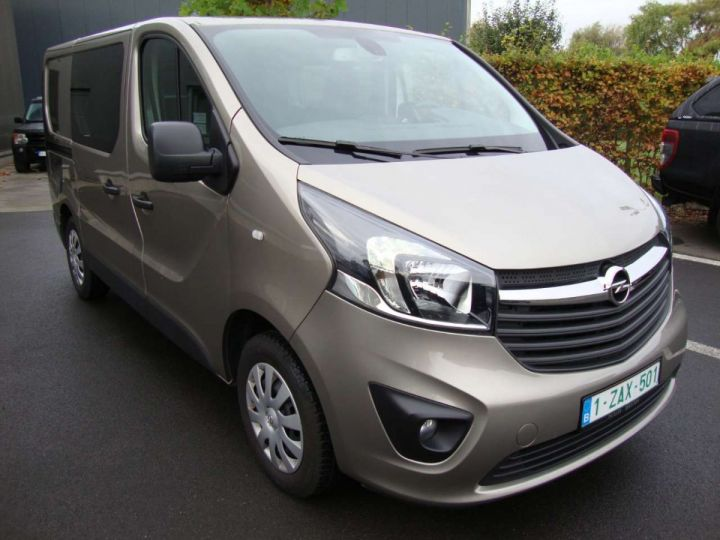 Commercial car Opel Vivaro Other 125 pk, L1, 5 pl, dub cab, gps, 2019, camera, PDC Beige - 22