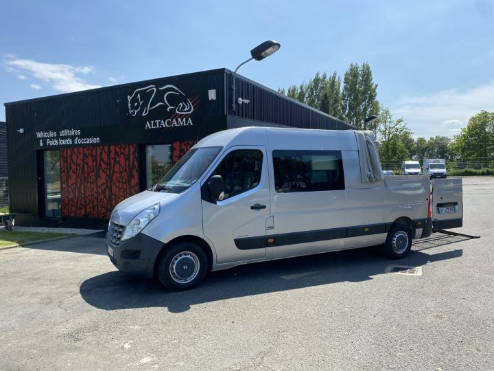 Commercial car Renault Pick Up L3H2 125 CV  6 PLACES PLATEAU PICK UP BACHE COULISSANTE RAMPES DE CHARGEMENT  GRIS - 1
