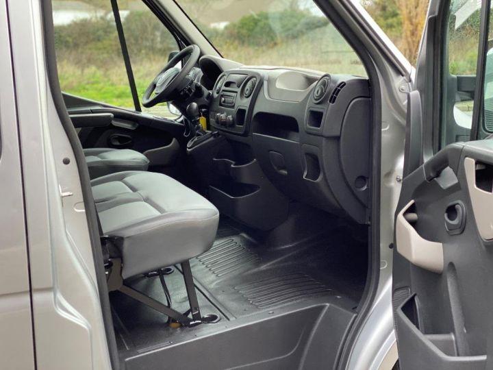 Commercial car Renault Master Pick Up L3H2 125 CV DOUBLE CABINE 6 PLACES PICK UP BACHAGE COULISSANT RAMPES DE CHARGEMENT  GRIS - 10