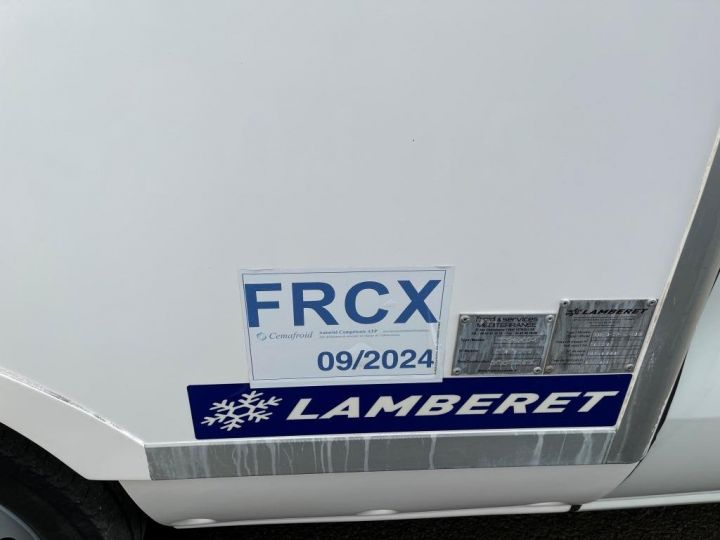 Commercial car Fiat Doblo Refrigerated body BLANC - 6