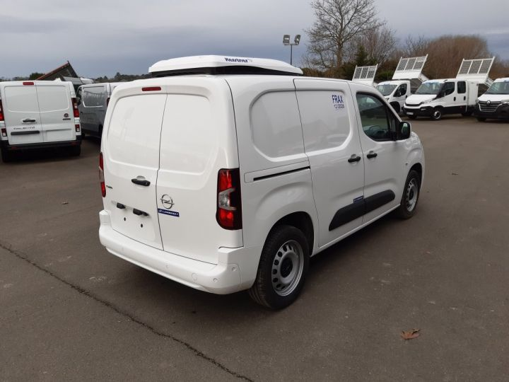 Commercial car Opel Combo Refrigerated van body L1H1 1.5D 100CH PACK CLIM BLANC - 3