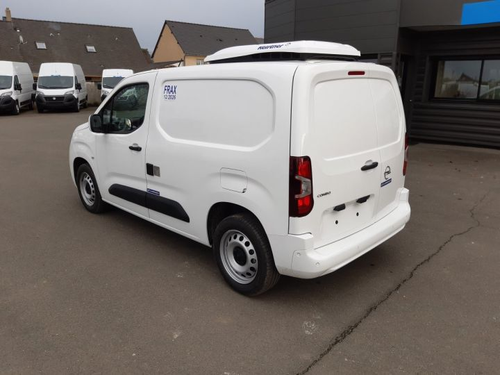 Commercial car Opel Combo Refrigerated van body L1H1 1.5D 100CH PACK CLIM BLANC - 4