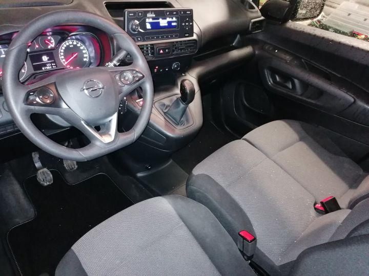 Commercial car Opel Combo Steel panel van BLANC - 8