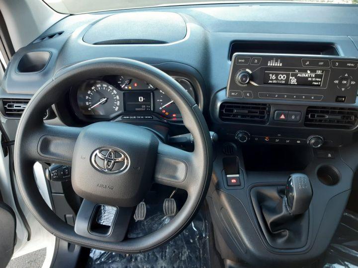 Commercial car Toyota ProAce Steel panel van MEDIUM 1.5D 100CV DYNAMIC BLANC - 10
