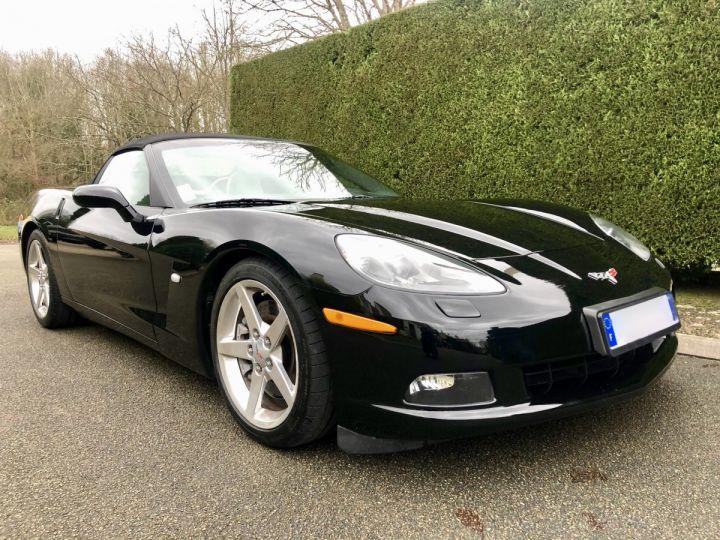 Corvette C6 Cabriolet V8 / Boîte mécanique / Parfait état (entièrement révisée) Noir Vendu - 1