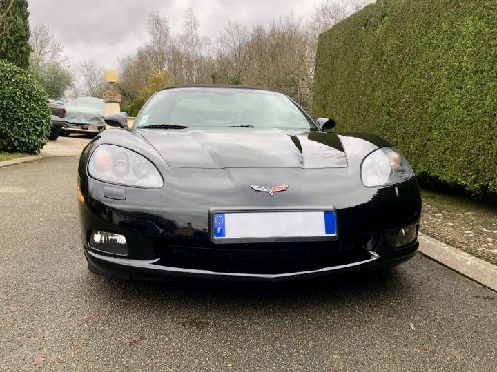 Corvette C6 Cabriolet V8 / Boîte mécanique / Parfait état (entièrement révisée) Noir Vendu - 2
