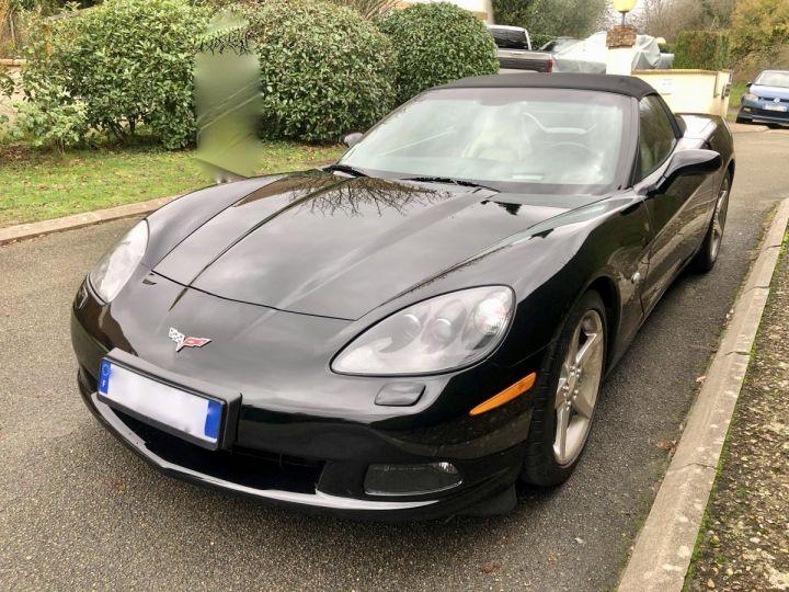 Corvette C6 Cabriolet V8 / Boîte mécanique / Parfait état (entièrement révisée) Noir Vendu - 3