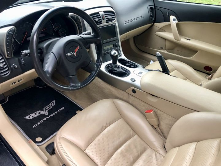 Corvette C6 Cabriolet V8 / Boîte mécanique / Parfait état (entièrement révisée) Noir Vendu - 5