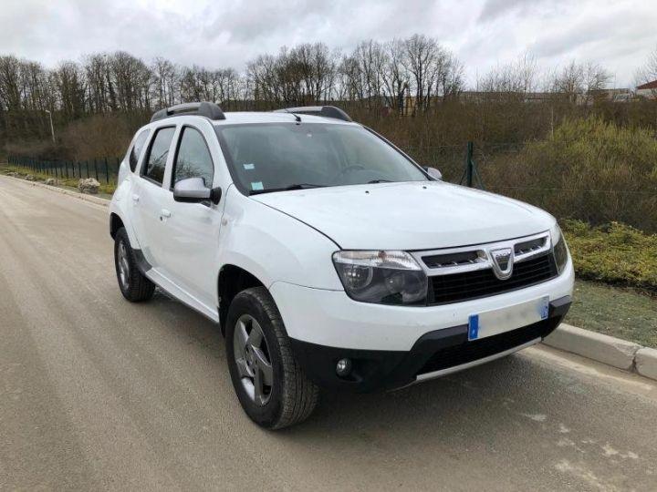 Dacia DUSTER 15 DCI 110 4X2 PRESTIGE Blanc Occasion - 10