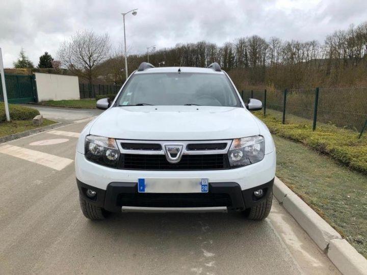 Dacia DUSTER 15 DCI 110 4X2 PRESTIGE Blanc Occasion - 11