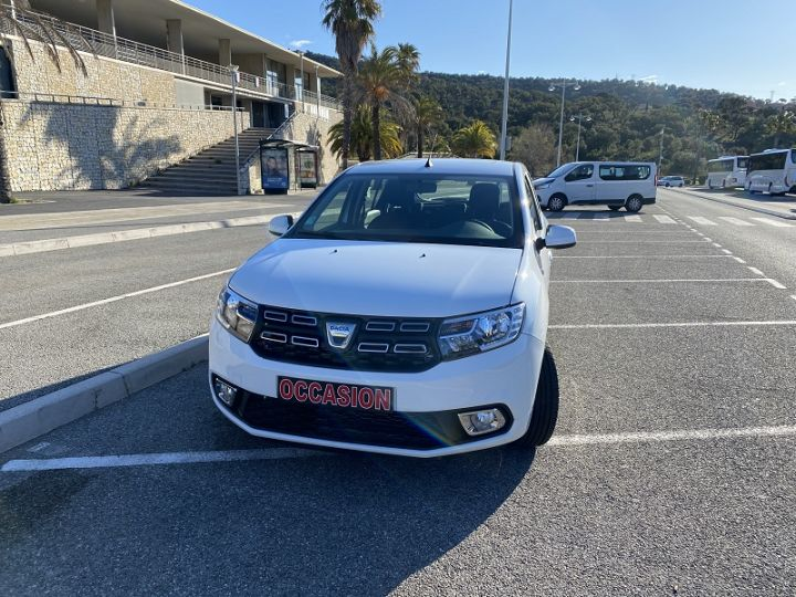 Dacia SANDERO 1.0 SCE 75CH CITY+ Blanc - 1
