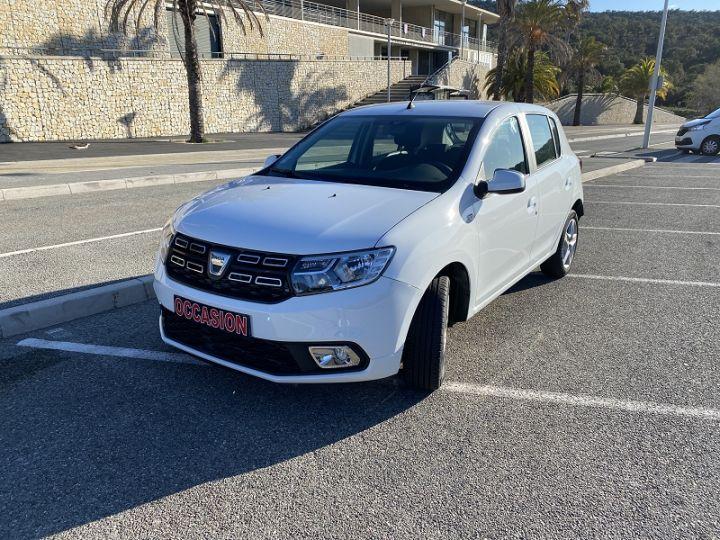 Dacia SANDERO 1.0 SCE 75CH CITY+ Blanc - 2