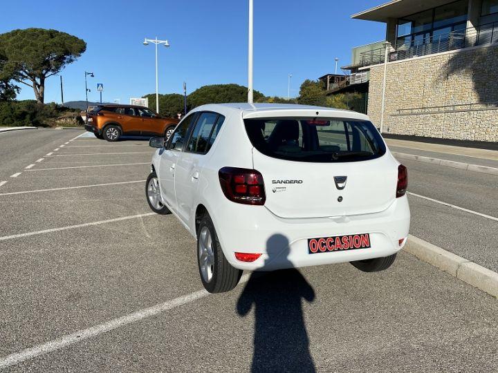 Dacia SANDERO 1.0 SCE 75CH CITY+ Blanc - 3