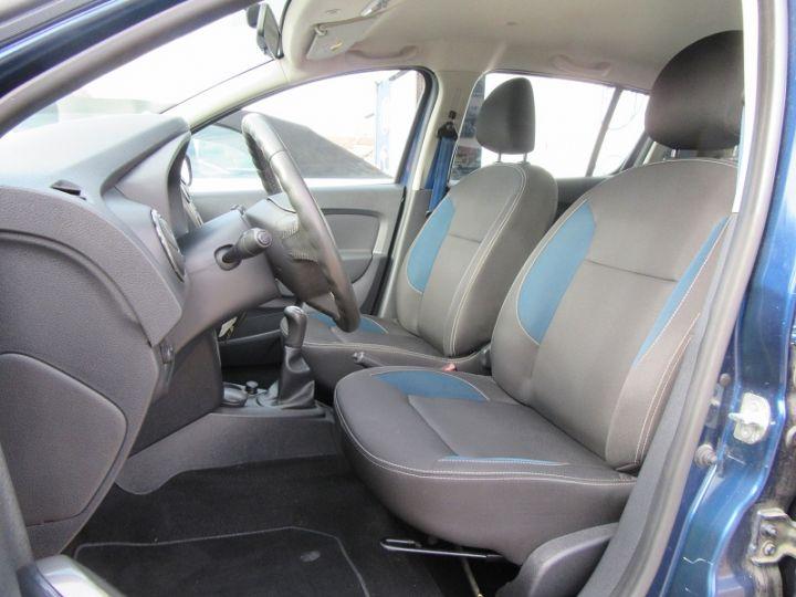 Dacia SANDERO 1.2 16V 75CH AMBIANCE Bleu Nuit Occasion - 4