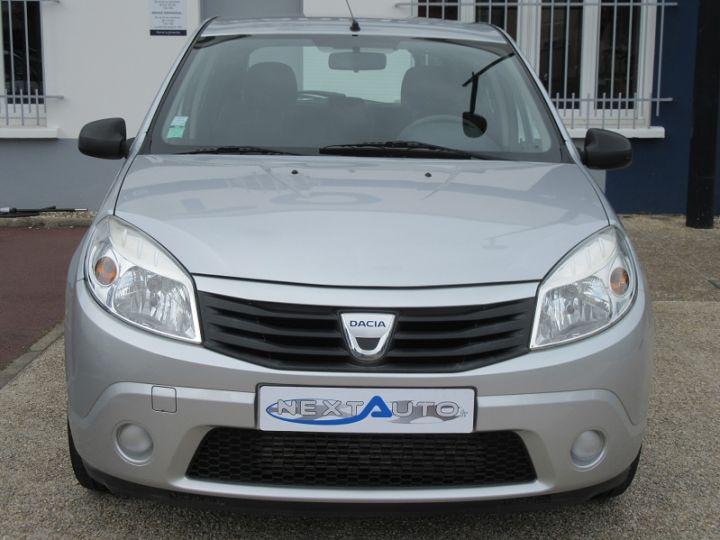 Dacia SANDERO 1.5 DCI 70CH AMBIANCE Gris Clair Occasion - 6