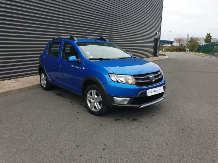 Dacia SANDERO 2 stepway 0.9 tce prestige o Bleu Occasion - 2