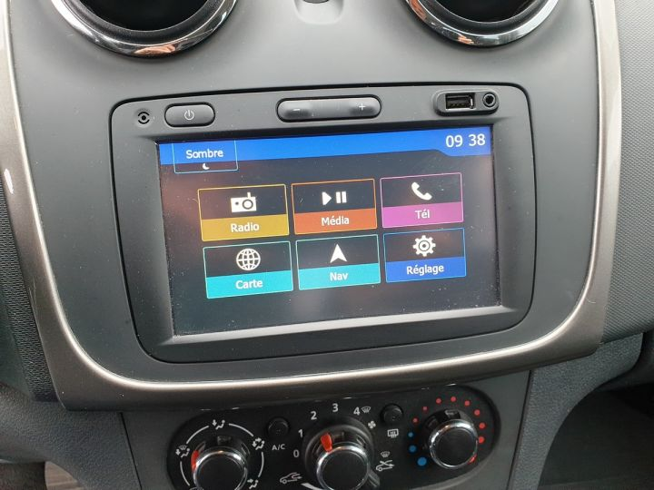 Dacia SANDERO 2 stepway ii 1.5 dci 90 prestige i Noir Occasion - 8