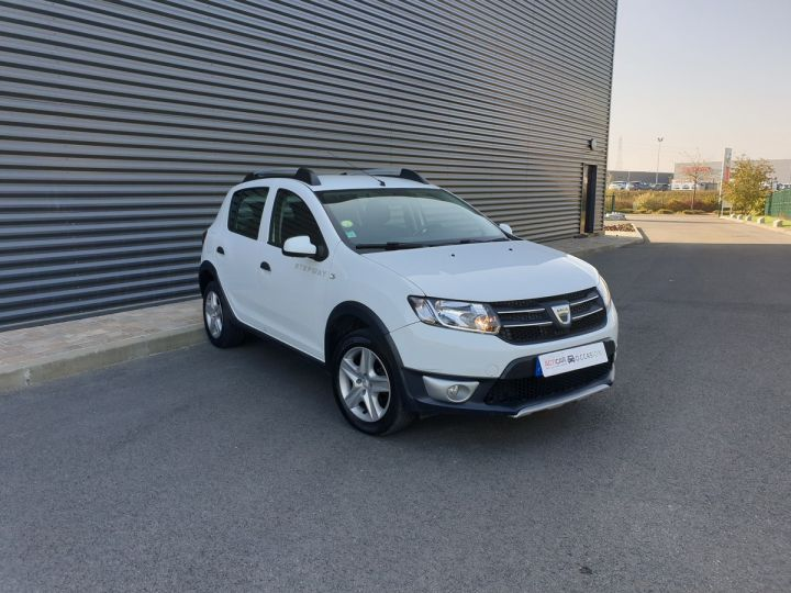 Dacia SANDERO 2 stepway ii 1.5 dci prestige iii Blanc Occasion - 2