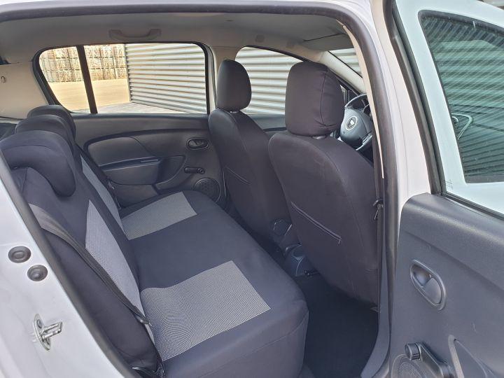 Dacia SANDERO 2 stepway ii 1.5 dci prestige iii Blanc Occasion - 9