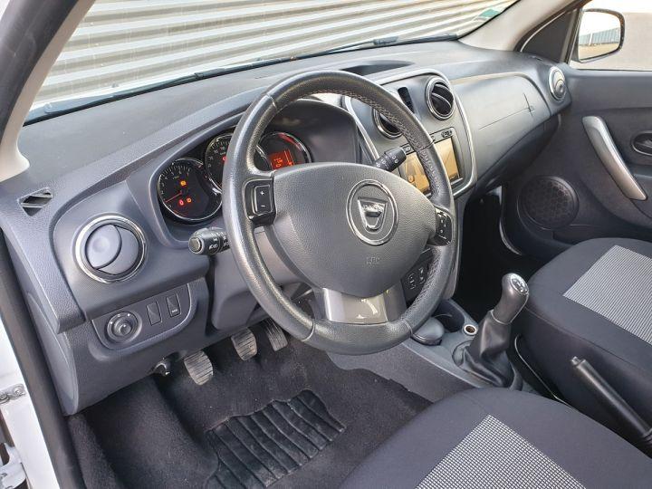 Dacia SANDERO 2 stepway ii 1.5 dci prestige iii Blanc Occasion - 10