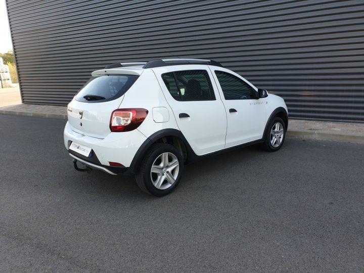 Dacia SANDERO 2 stepway ii 1.5 dci prestige iii Blanc Occasion - 11