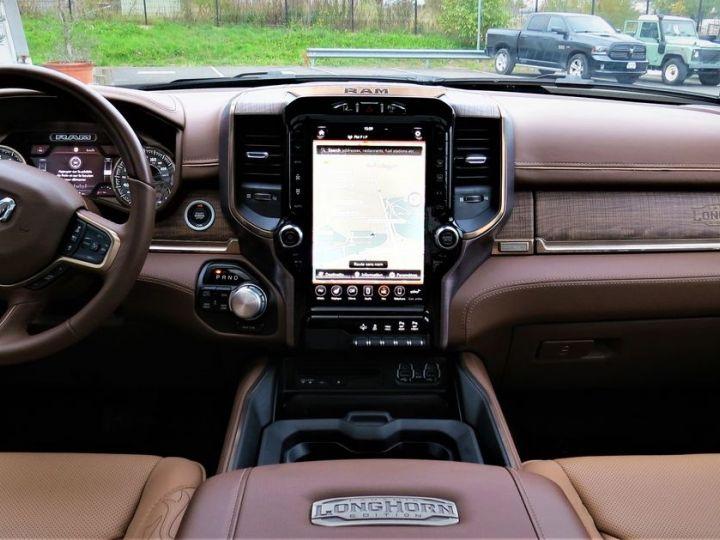 Dodge Ram 1500 5.7 V8 395 HEMI CREW CAB LONGHORN Noir - 4