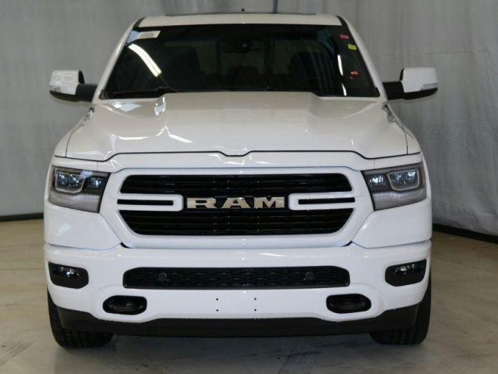 Dodge RAM 1500 CREW CAB BIGHORN 4X4 2019 CTTE TVA RECUP BLANC Neuf - 1
