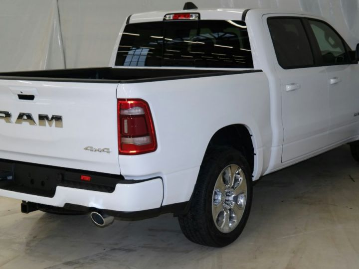 Dodge RAM 1500 CREW CAB BIGHORN 4X4 2019 CTTE TVA RECUP BLANC Neuf - 7