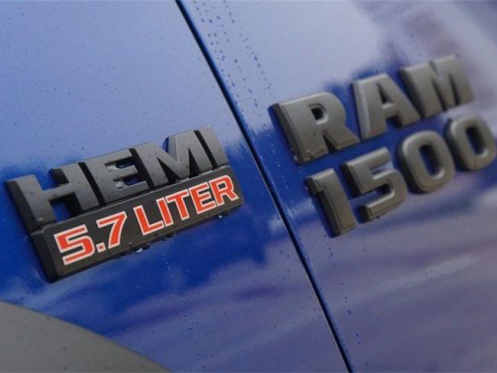 Dodge RAM CREW CAB REBEL 2018 CTTE PLATEAU  BLEU  Vendu - 5
