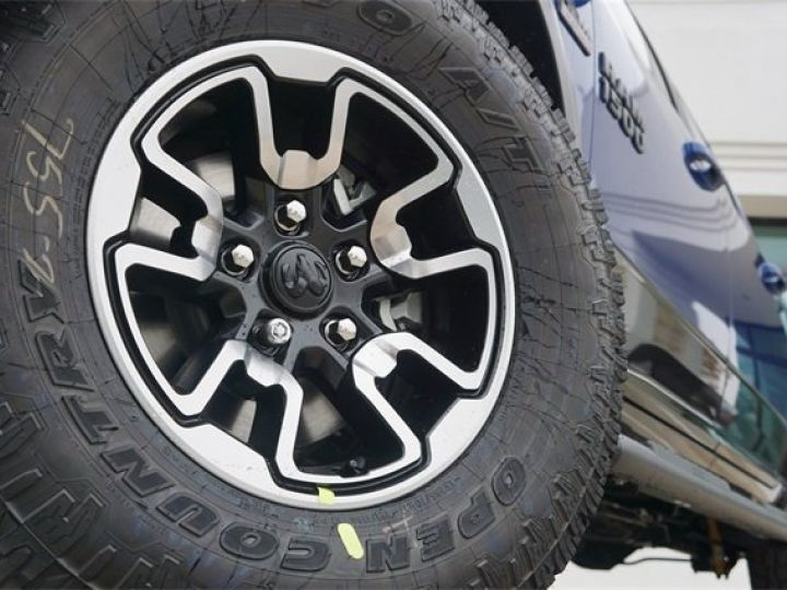 Dodge RAM CREW CAB REBEL 2018 CTTE PLATEAU  BLEU  Vendu - 6