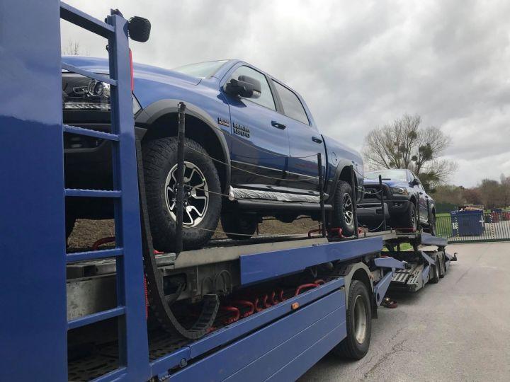 Dodge RAM CREW CAB REBEL 2018 CTTE PLATEAU  BLEU  Vendu - 10