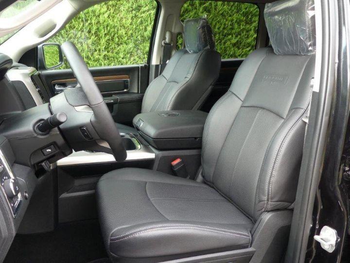 Dodge Ram CREW  LARAMIE SUSPENSION  2018 NEUF  CTTE plateau NOIR Neuf - 6