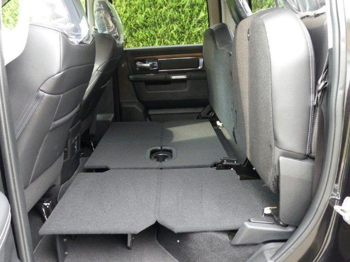 Dodge Ram CREW  LARAMIE SUSPENSION  2018 NEUF  CTTE plateau NOIR Vendu - 7