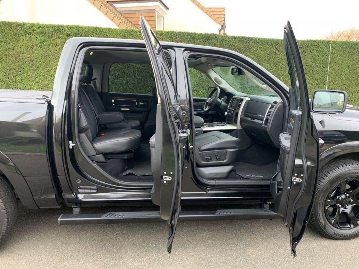 Dodge Ram LARAMIE CLASSIC *BLACKEDITION* PAS TVS/TVA RECUP/PAS D'ÉCOTAXE Noir + PACK BLACKEDITION Neuf - 12