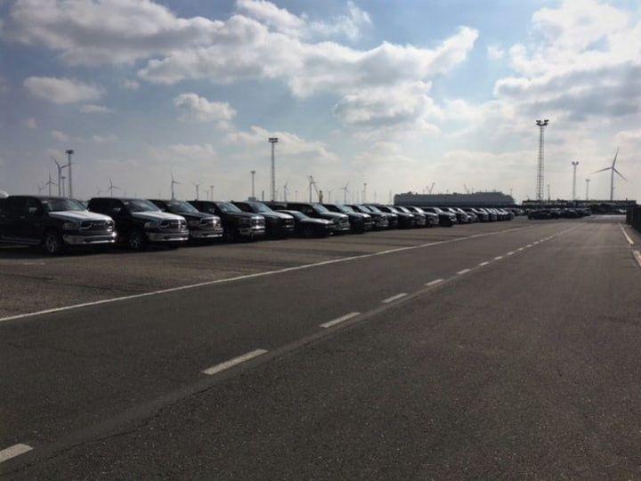 Dodge Ram LARAMIE CLASSIC CREW CAB PAS D'ECOTAXE/PAS DE TVS/TVA RECUPERABLE Rouge Delmoncio Neuf - 14