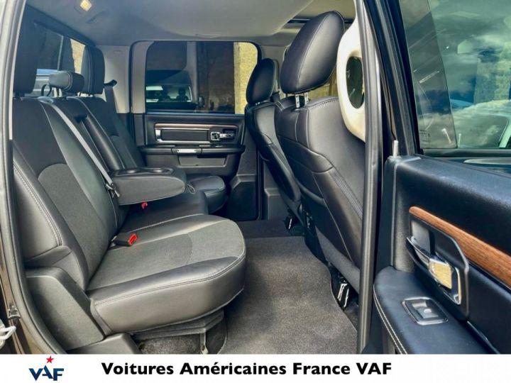 Dodge Ram Laramie crew Full, Longue benne (1m90), Rambox, GPL Prins 102L  1er main Française EN STOCK Noir Métal Occasion - 9